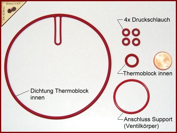 Dichtungssatz Fur Saeco Durchlauferhitzer Boiler Thermoblock Bei